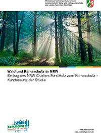 Wald und Klimaschutz in NRW